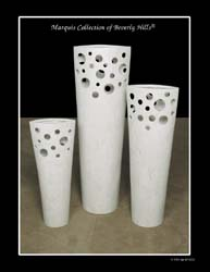 Rain Forest Vase (with Holes in Top Section) - 26