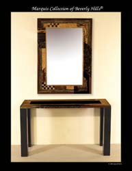 Collage Mirror Frame, Multi-Finish