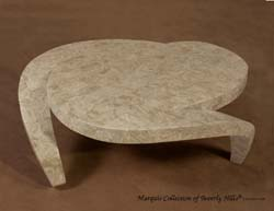 Hurricane Cocktail Table, Cantor Stone