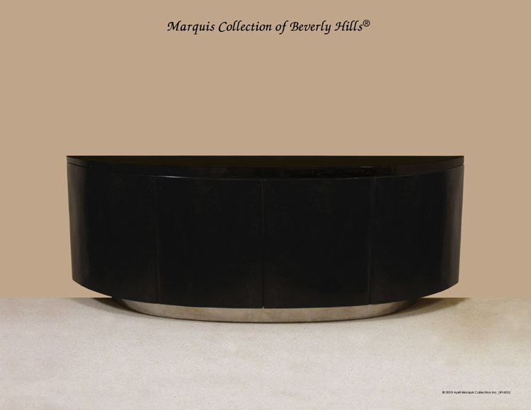 Italia Buffet - SOLO, Black Stone with Stainless Steel